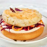 Receta de burger de abadejo